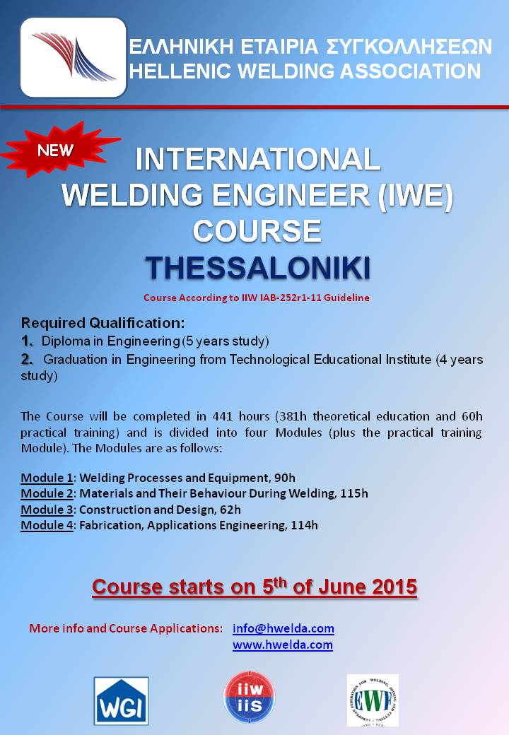 welding engineer The cwb qualifies welding engineers under csa w471, w472, w186 and w553, providing a range of training materials to support the needs of engineers looking to specialize in welding.